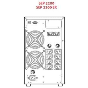Sentinel Pro Riello UPS 700 - 3000VA Online USV Anlage
